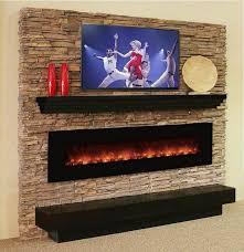 walmart electric fireplace decor