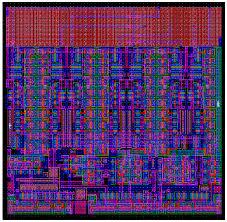 3 bit flash adc 15m ic layout designer