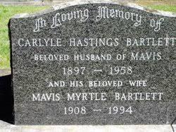Mavis Myrtle Lowe Bartlett (1908-1994) - Find A Grave Memorial