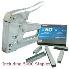 arrow stapler t50 heavy duty staple gun with staples fastener electric manual
