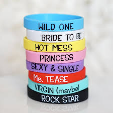 bachelorette party bracelets