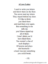 love letters poems