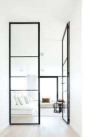 steel frame glass doors white living room with black metal frame glass doors home sweet home