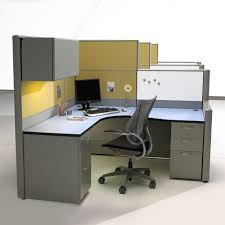 cubicle office design. Modern Office Cubicle Layout Design : Fancy Gray Nuance With L Shape Light N