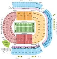Lsu Tiger Stadium Seating Chart With Seat Numbers Lsu Tigers Vs Auburn Tigers Tickets Section 636 Row Y