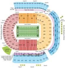 Lsu Tigers Vs Auburn Tigers Tickets Section 631 Row M