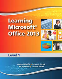 pearson learning microsoft office 2013 level 1 cteschool view larger cover learning microsoft office