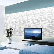 wave 3d wall art panel set of 4  on 3d wall art panels melbourne with wave 3d wall art panel set of 4 by newdecor zanui
