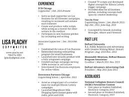 Copywriter Resume Copywriter Resumes Resume For Study 15