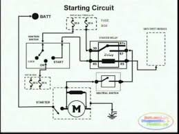 starting system & wiring diagram youtube 240 Volt Motor Wiring Diagram starting system & wiring diagram