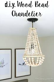 wood bead chandelier come learn how to make your own wood bead chandelier with this awesome wood bead chandelier