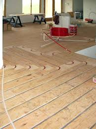 thermofin u radiant floor aluminum heat transfer plates are used in hydronic radiant heating free