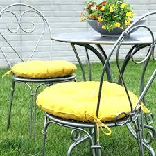round bistro chair cushions outdoor designs