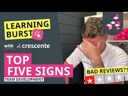 Learning Burst with Crescente - 5 Signs you should develop your ...