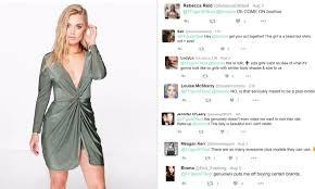 Boohoo Plus Size Chart Boohoo Comes Under Fire For Using A Size 12 Model In Its