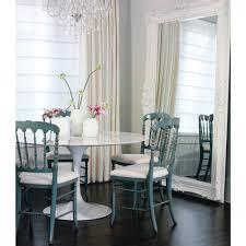 tulip marble dining table 90cm eero saarinen aluminium interior secrets