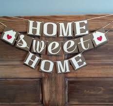 Home Sweet Home Banner, Housewarming Party Banner by BeeYouDesigns on Etsy  https://