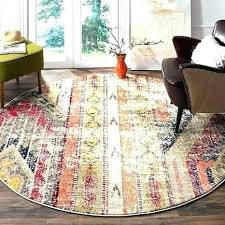 7 foot round jute rug 6 rugs brilliant ft com within square area