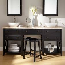 fascinating walnut design for double sink vanity ideas with glass bathroom affordable vanities stylish black wooden base open remodeling