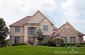 Brick and Stucco Home