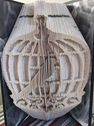 birdcage bi cut fold book folding pattern