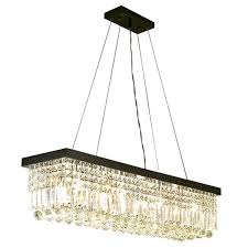 chandelier rectangle modern simple restaurant rectangle crystal chandeliers led re bedroom chandelier fixtures chandelier rectangle