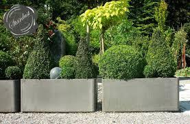 ideas wonderful outdoor garden design with nice modern planters