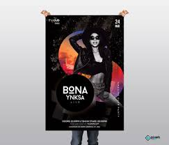 Club Flyers Address 036 Free Club Flyer Templates Artist Psd Event Template Min