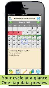 Free Menstrual Calendar - Period Tracker And Ovulation Calculator