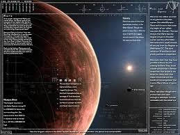 Hd Wallpaper Mars Planet Chart Infographics Space