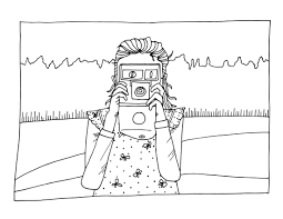 Small Picture Video Camera Coloring Page Free Download