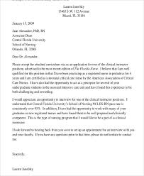Graduate Nursing Cover Letter 7 Examples In Word Pdf