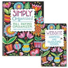 Monthly Bill Organizer Book Bill Paying Organizer Monthly Bill Organizer Current Catalog