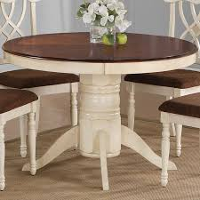 rectangle tone double leaf dining table