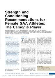 female gaa athletes