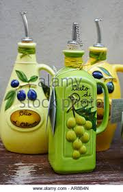 Olive Oil Decorative Bottles Decorative Olive Oil Container Italy Stock Photos Decorative 16