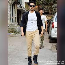 varun dhawan snapped outside shoojit sicar s office