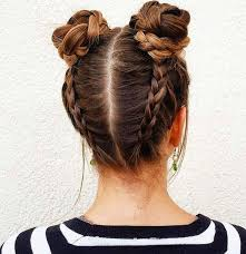 Pretty Girls Hairstyle braids and buns hairstyles pinterest hair style 3548 by stevesalt.us