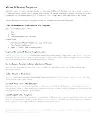 Free Resume Templates Microsoft Word 2007 Simple Cover Letter Template Word Office Resume Templates Microsoft 48