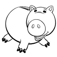 toys story coloring pages. Delighful Toys Hamm Coloring Pages In Toys Story
