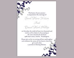 DIY Wedding Invitation Template Editable Word File Instant Download New Invitation Template Word