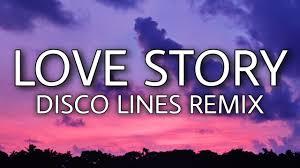 Taylor Swift - Love Story (Lyrics) Disco Lines Remix [TikTok song] - YouTube