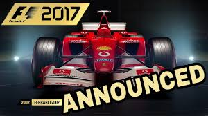 new release car gamesF1 2017 GAME CONFIRMED RELEASE DATE NEW CHAMPIONS MODE  CLASSIC