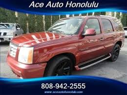 cadillac escalade 2016 red. used 2004 cadillac escalade 4dr awd for sale in honolulu hi 2016 red