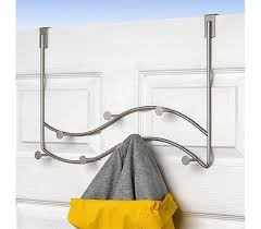 Coat Rack Solutions Sweep 100 Hook Over The Door Over The Door Coat Rack Hang Hoodies 48