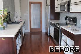 kitchen cabinet painting refacing before after gallery