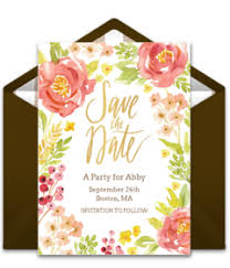 Christmas Wedding Save The Date Cards Free Save The Dates Online Save The Dates Punchbowl