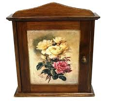Decorative Key Boxes Decorative Wall Key Holders Key Holder Key Cabinet Roses Wood Key 51