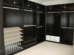 black closet storage drawers