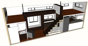 house plans with loft. Tiny House Plans - HOMe Architectural With Loft